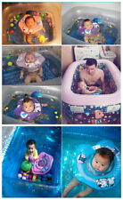 New Inflatable Adjustable Double Protection Collar Baby Float Swimming Tube Ring