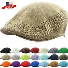 Classic Mesh Ivy Newsboy Ivy Cap Hat Crochet Driving Golf Ventair Ivy NEW