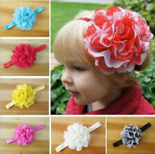 Baby Girl Kids Toddler Flower Pearl Headband Hair Band Bow Accessories New