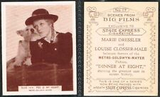 Ardath - Scenes From Big Films 1935 #51 to #100 Medium Size Movie Cards