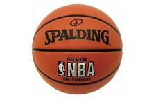 New Spalding NBA Silver Basketball Official Outdoor Practice Ball