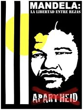 4922.Mandela.la liberated entree rajas.apartheid.POSTER.decor Home Office art
