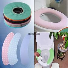 Washroom Warm Healthy Round Toilet Mat Cover Pad For Adults Children Cushion