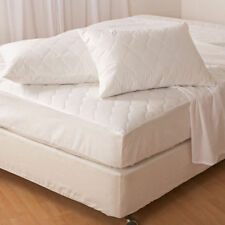 QUILTED ALL SIZES MATTRESS PROTECTORS SINGLE DOUBLE KING SUPER KING 4 FT FITTED