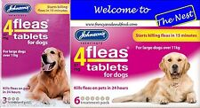 Johnsons4fleas 4fleas Tablets for Dogs & Pups -D092/D085- Free Post Item