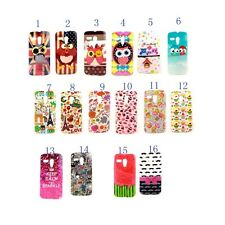 1 x Flag Calm OWL Cake TPU Gel Skin Back Case Cover For Motorola Moto G XT1028