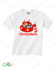 Little Einsteins Boys Birthday T-Shirt  Custom Kids Name Age Personalized