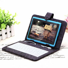 "iRulu 7"" Dual Core 16GB Tablet PC Android 4.2 Cameras Azure w/ Cartoon Keyboard"