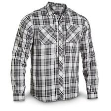 Under Armour HG Tactical SOAS Covert L/S Aluminum Black Plaid Shirt 1236383