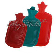 Rubber Warmer Relaxing Home Outdoor Camping Heat Hot Cold Water Bag Bottle JC