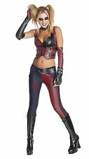 Harley Quinn Adult Batman Arkham City Secret Wishes Outfit Costume New