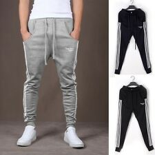 Men Casual Dance Baggy Training Jogger Tracksuit Slim Trousers Slack Sweat Pants