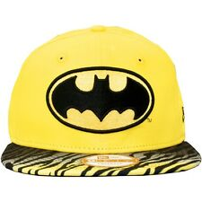 New Era x DC Comics - Casquette Snapback Homme Batman 9Fifty Animal Fade - Yello