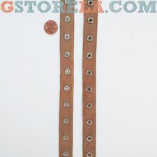 """Tan Snap Tape Buttons 3/4"""" Inch, Choose Length *Closeout Prices* 003"""