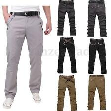FAD Men Stylish Straight Slim Fit Trousers Casual Long Pant Skinny Pants Jeans