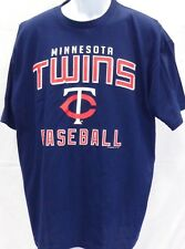 Minnesota Twins Baseball Adult Twins TC Baseball Short Sleeve T-Shirt Navy