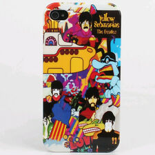 The Beatles Yellow Submarine Hard Back Cover Case For iPhone 4G 4S & iPhone 5 5S