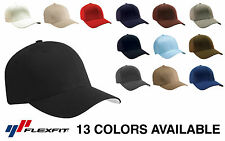 Yupoong Flexfit 6277 Wooly Combed Twill Cap Hat *13 COLORS* Blank Wholesale