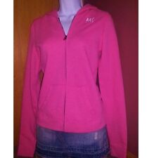 ABERCROMBIE & FITCH A&F Pink Zip Up Hoodie Sweatshirt SMALL MEDIUM LARGE NEW $58