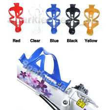 1 PC Bike Bicycle Water Bottle Holder Cage Plastic with Screws Multi-Colors