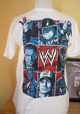 T-SHIRT CATCH WWE UNDERTAKER JOHN CENA GO TO SCHOOL TAILLE : YOUTH XL