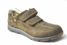 Clarks Unstructured Un Casual Tod Brown/Khaki Nubuck Boys Casual Sneakers 62500