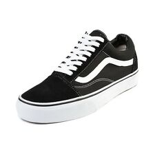 Vans Old Skool Black White Canvas/Suede Men's Size New In Box VN-0D3HY28