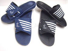 Mens Sport Slides Slippers Flip flops Massage Sandals Summer Swim Shower Shoes