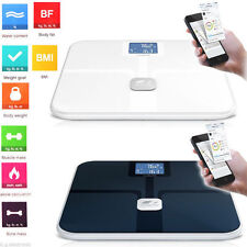 Smart App Bluetooth Digital Scale Body Fat Weight Analysis for iPhone 5 5S iPad