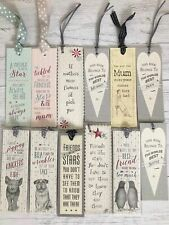 EAST OF INDIA CARDBOARD BOOKMARK MANY DESIGNS SOLD FOR HOSPICE