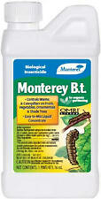 Monterey Garden B.t. Biological Insecticide Concentrate - organic control worms