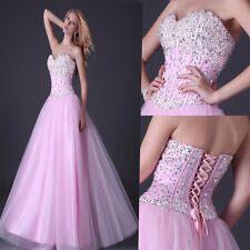 Cheap~Homecoming Beaded Tulle Quinceanera/Ball gown/Evening/Wedding Prom Dresses