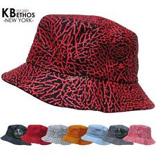 Bucket Hat Boonie Elephant Skin Hunting Fishing Outdoor Cap 100% Cotton NEW