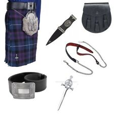 Pride of Scotland 5 Yard Budget Kilt Package with Belt, Sporran & Kilt Pin.
