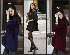 2014 new fashion autumn and winter long sleeve 0-neck dress for pregnant women