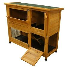 4FT LARGE INDOOR OUTDOOR BUNNY RABBIT HUTCH COVER, HUTCHES  FERRET, GUINEA /