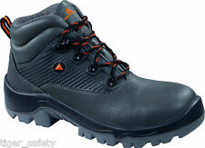 Delta Plus Panoply Planet S3 Grey Mens Safety Boots Composite Toe Cap Work Boot