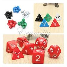 Games Dice Set 7 Sided Die D4 to D20 DUNGEONS&DRAGONS D&D RPG Dice Game Heptad