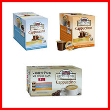 Grove Square Cappuccino K-cups for Keurig * Pick flavor and size *