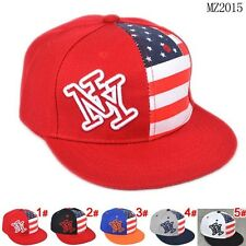 US Flag Charm Boy Girl Adjustable Cute Baby Baseball Hat New Hip-Hop Cap CF1161