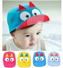 Fashion Owl Cute Infant Baby's Hat Boy Girl Soft New fall Kid Cap Hot CF1163