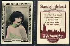 Westminster - Stars Of Filmland (Firm in White) 1927 #1 to #50 (£3.75 each)