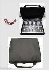 TO FIT SOUNDCRAFT EFX 8,12/EPM 6,8,12 / MFXi8,i12 MIXER COVER / ZIP WITH HANDLE