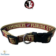 NCAA Pet Fan Gear FLORIDA STATE SEMINOLES Collar Collars for Dog Dogs Puppy