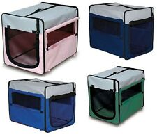 Portable Folding Dog Cat Soft Carrier Crate Cage Carry Case