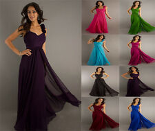 Chiffon Formal Prom/Bridesmaid Cocktail Party Evening Dress Size 4-18 New Make