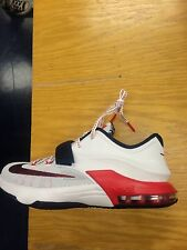 """Nike KD 7 VII """"USA"""" Independence Day Youth Kids GS PS TD Sz:5C-7Y White/Red/Blue"""