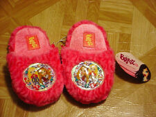 Bratz Young Girls Hot Pink Slippers Sizes, 9-10, 11-12, 13-1,  2-3
