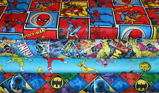 *SUPER HEROS* SCRUB TOPS Group5, SIZES XS-2X, Larger Sizes Avail, YOUR CHOICE