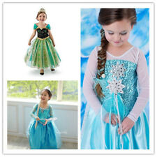 Girl's Anna and Elsa Frozen Cake Tulle Tutu Dress Kid's Dresses Clothes 9 style